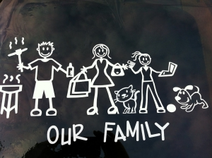 family car decal